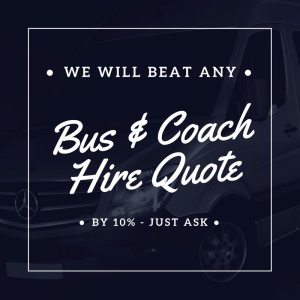 We will Beat any Minibus & Coach Quote!